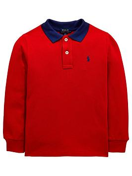 ralph-lauren-boys-long-sleeve-contrast-collar-polo