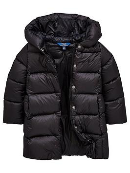 ralph-lauren-girls-long-down-padded-coat-black