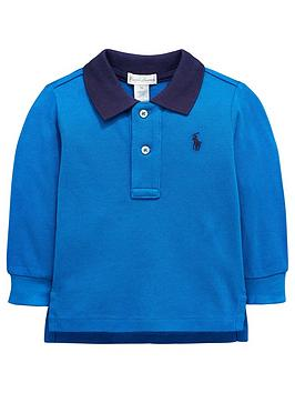 ralph-lauren-baby-boys-contrast-collar-long-sleeve-polo-blue