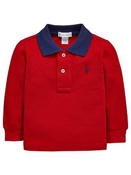 ralph-lauren-baby-boys-contrast-collar-long-sleeve-polo-shirt-red