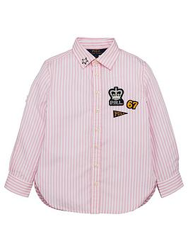 ralph-lauren-girls-long-sleeve-stripe-badge-shirt-pink