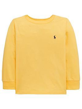 ralph-lauren-boys-classic-long-sleeve-t-shirt-yellow