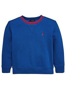 ralph-lauren-boys-crew-neck-sweat-top-blue