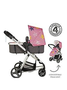 Cosatto Cosatto Giggle Mix 2 in 1 Pram & Pushchair - Happy Stars