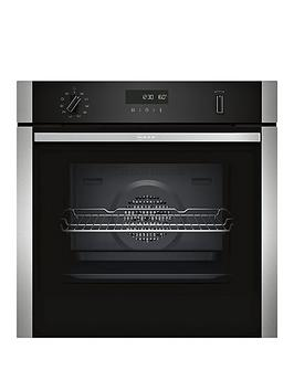 neff-b2ach7hn0bnbsp60cm-built-in-single-oven-with-circothermreg-stainless-steel