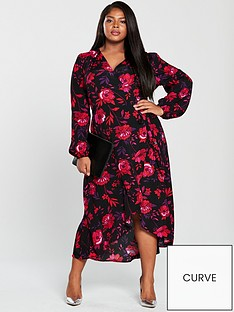 v-by-very-curve-printed-wrap-midi-dress-floral