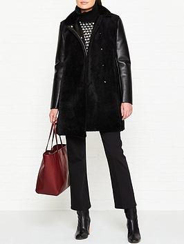 armani-exchange-shearling-caban-coat-black