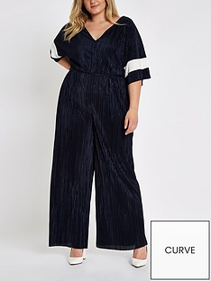 ri-plus-ri-plus-plisse-colourblock-jumpsuit--navy