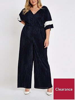 ri-plus-ri-plus-plisse-colourblock-jumpsuit--navy