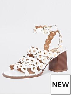 river-island-river-island-scallop-stud-sandals--white