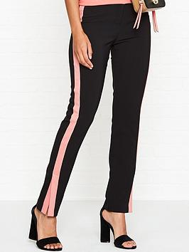 armani-exchange-split-seam-side-stripe-trousers-black