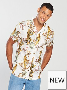 river-island-white-tape-tiger-print-revere-shirt