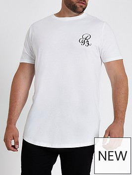 river-island-big-and-tall-white-muscle-fit-curve-hem-t-shirt
