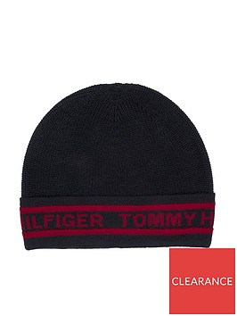 tommy-hilfiger-text-knit-beanie