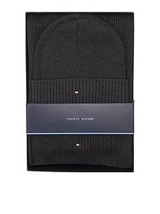 tommy-hilfiger-pima-cotton-scarf-and-beanie-set