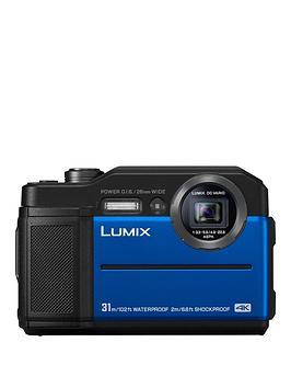 panasonic-lumix-dc--ft7-digital-in-blue-204mp-water-shock-dust-amp-freeze-proof-4k-wifi