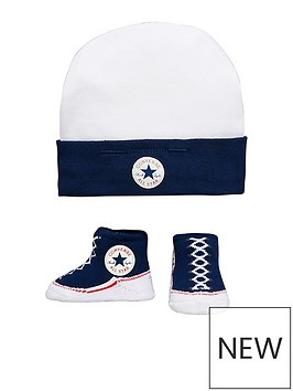 converse-converse-baby-hat-amp-bootie-set