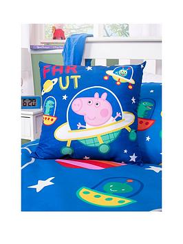 peppa-pig-george-planets-square-cushion