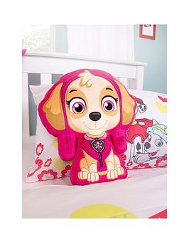 paw-patrol-skye-shaped-puppy-cushion