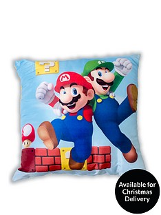mario-gang-square-cushion