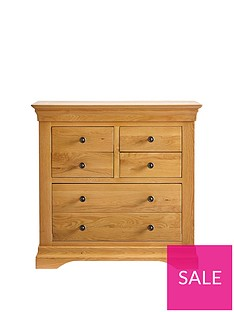 Ideal Home Normandy 4 + 2 Drawer Chest