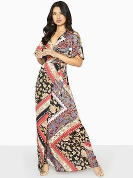 girls-on-film-wrap-maxi-dress-scarf-print