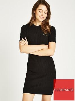 jack-wills-danesfort-cable-knit-dress-black