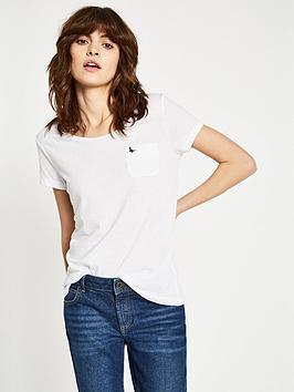Jack Wills Fulford Pocket T-Shirt - White
