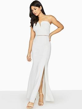 Girls On Film Double Strap Maxi Dress - White