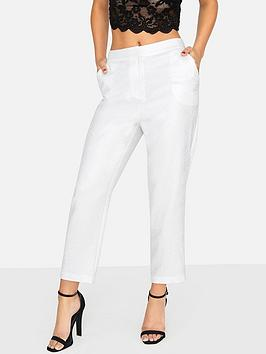 girls-on-film-metallic-tailored-trouser-silver