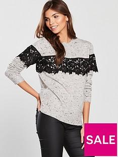 v-by-very-neppy-yarn-applique-lace-jumper-grey-marl
