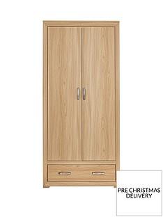 Mariza 2 Door, 1 Drawer Wardrobe