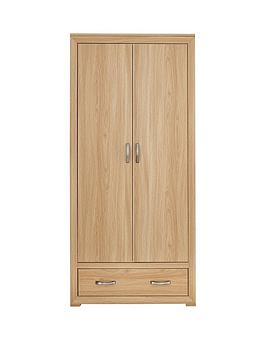 mariza-2-door-1-drawer-wardrobe