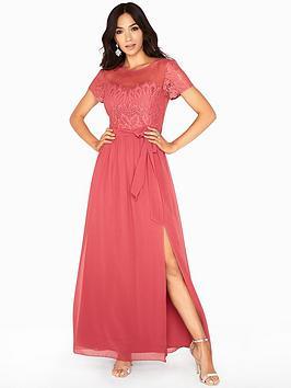 little-mistress-sienna-sweetheart-bust-lace-detail-maxi-dress-blush