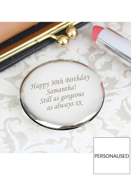 0fb8780768bd3 Personalised Compact Mirror