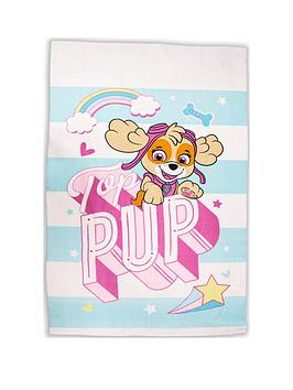 paw-patrol-pastels-skye-fleece-blanket
