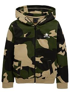money-boys-camo-zip-through-hoody