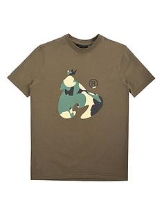 money-boys-khaki-ape-short-sleeve-t-shirt