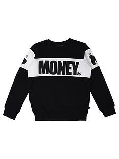 money-boys-black-label-cut-amp-sew-crew-neck-sweat