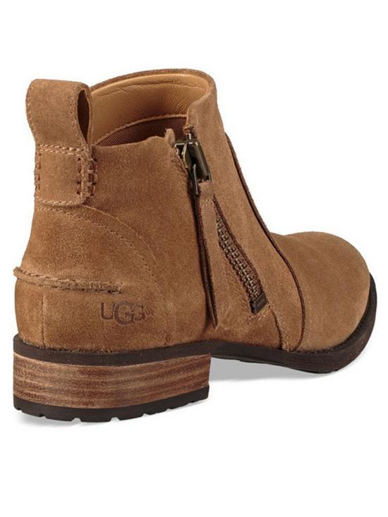 1d77ba69755 Aureo Ankle Boots - Chestnut