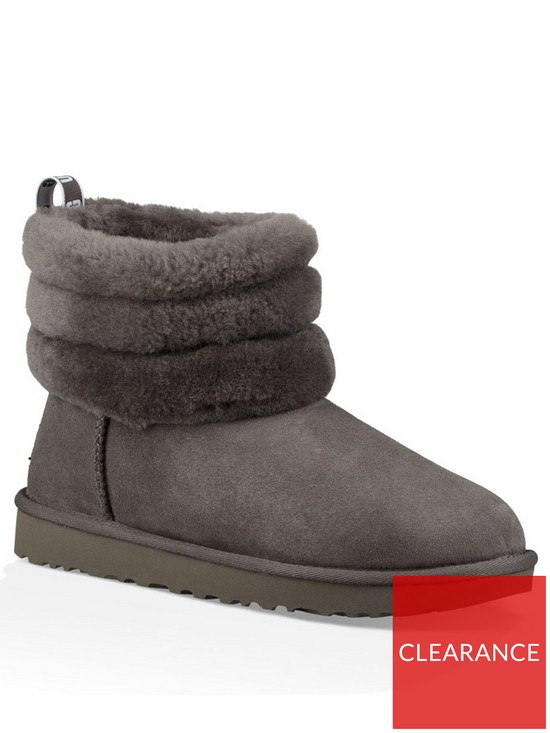 9446449f82 UGG Fluff Mini Quilted Ankle Boot