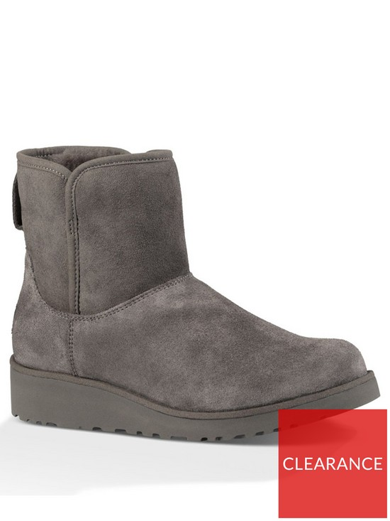 7900b5819d56 UGG Kristin Suede Ankle Boot - Grey