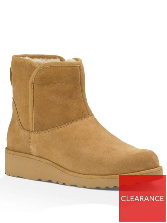 912661bfd5 UGG Kristin Suede Ankle Boot - Chestnut