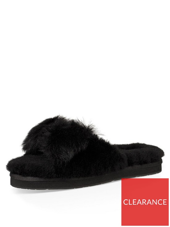 0a37ac6359 UGG Mirabelle Mule Slippers - Black