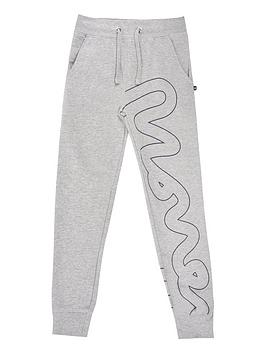 money-boys-white-label-embroidered-jogger