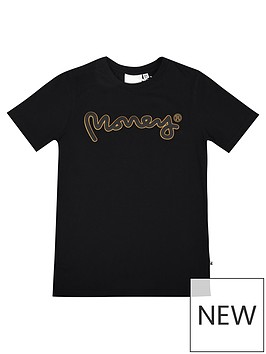money-boys-gold-label-logo-short-sleeve-t-shirt