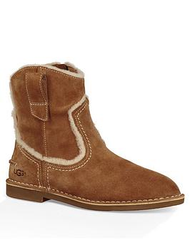 ugg-catica-suede-ankle-boots-chestnut