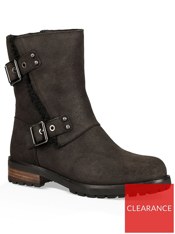 3ec6578267e Neils II Buckle Biker Boot - Black