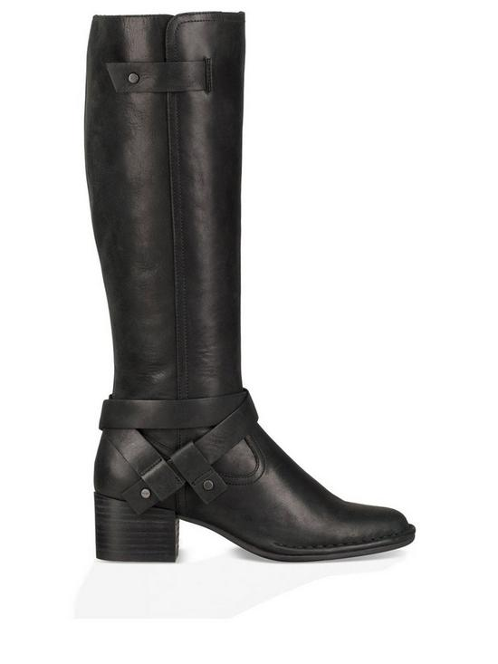 7d6b0be5295 Bandara Leather Tall Knee Boot