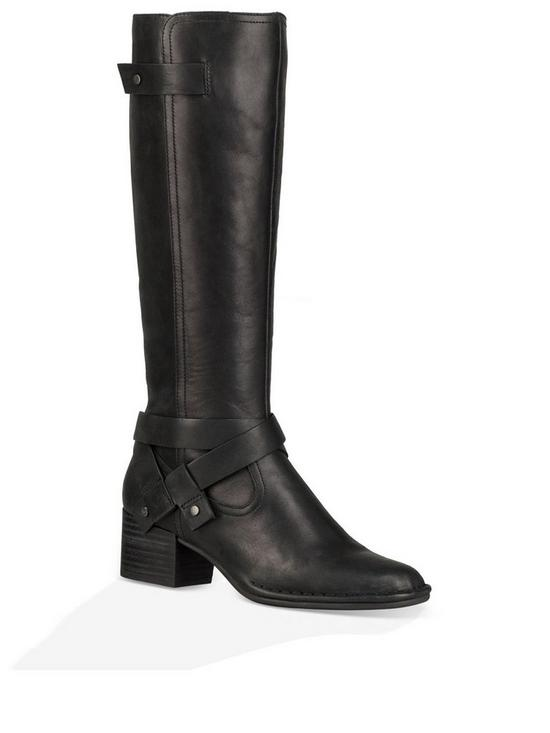 0ece9171e94 Bandara Leather Tall Knee Boot